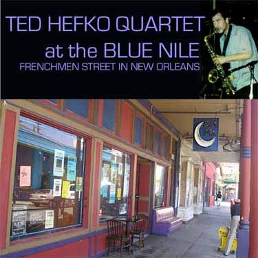 Ted Hefko Quartet at the Blue Nile